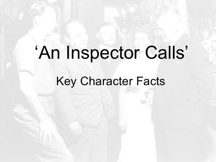 english coursework an inspector calls Gcse english literature revision looking at the charactesr within an inspector calls characters include mr arthur birling, mrs birling, sheila birling, inspector goole, eric birling, gerald croft.