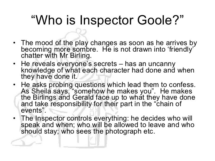 compare arthur birling and inspector goole I would like critique on this essay please arthur birling the play through inspector goole this play in comparison with the inspector and.