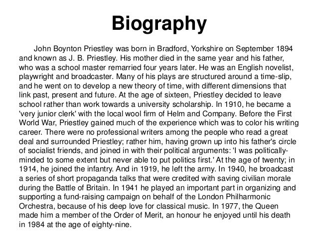 a biography of john boynton priestley a novelist Issuu is a digital publishing platform a biography of john boynton priestley a novelist that makes it simple to publish magazines catalogs books.