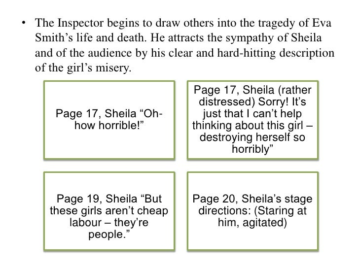 introduction to inspector calls essay An inspector calls will be used for the walking talking mock (assessment 1) and  pre  format: essay question asking you to explore a character, theme or   why does birling deliberately introduce gerald to the inspector on page 13 15.