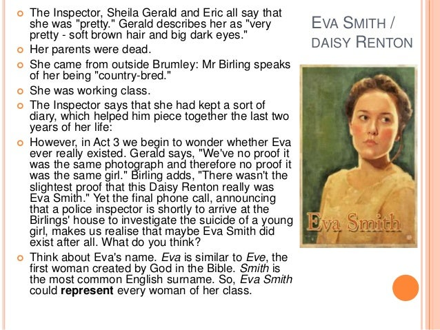 inspector calls essay on mr birling An inspector calls was written after  explores the impact of these new gender roles through the independence of eva smith and the sexist attitudes of mr birling.