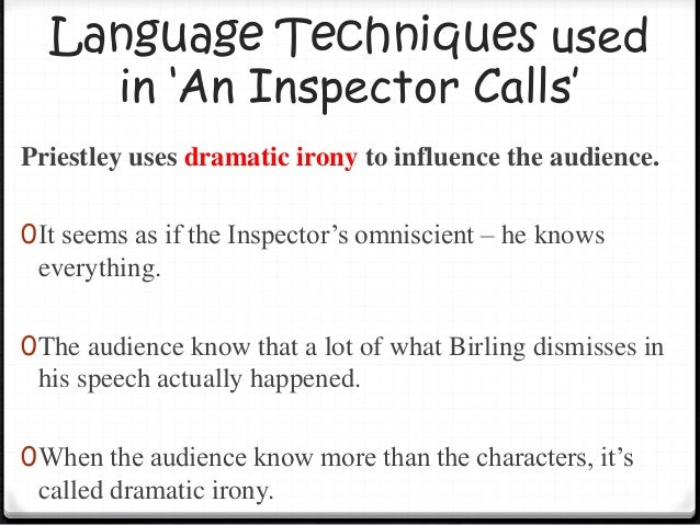 an inspector calls dramatic monologue 8 character(s) - dramatic, contemporary, contains adult content, copyrighted, brumley, england, 1901-1950.