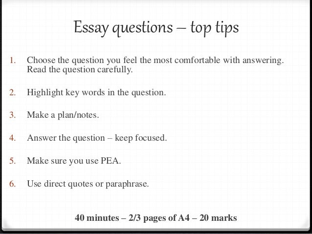 essay question notes Tips for writing essay questions on standardized tests the ultimate guide to essay questions i hate essays this battle cry is famous to most students that's because essay questions are either.
