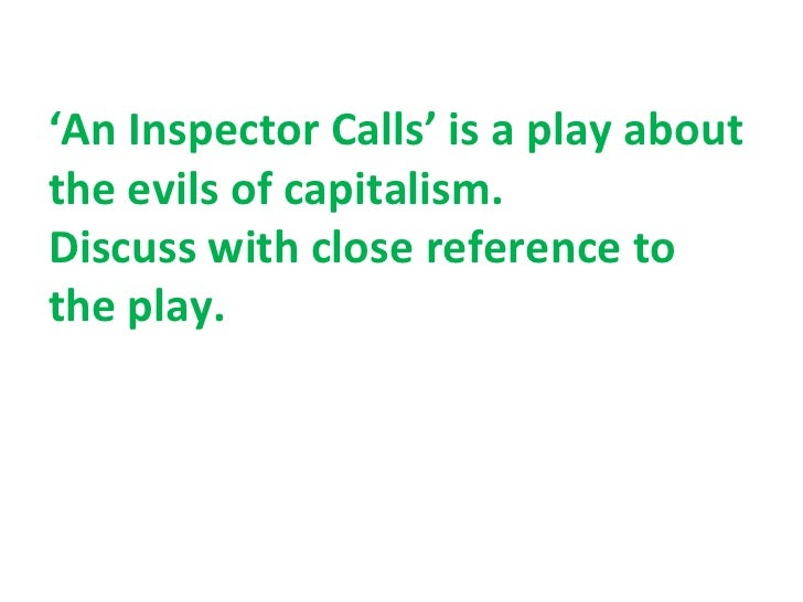 an inspector calls context This literature quiz is called 'an inspector calls - context' and it has been written by teachers to help you if you are studying the subject at high school.