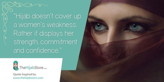 An Inspiring Quote on Hijabs
