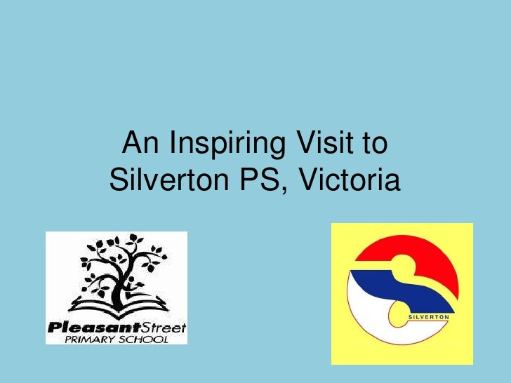 An Inspiring Visit to Silverton PS, Victoria<br />