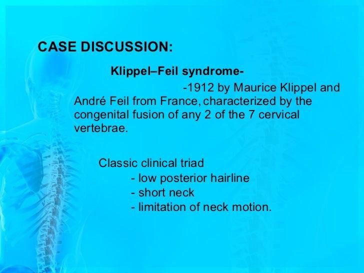 a case of klippel feil anomaly with sprengel shoulder, Skeleton