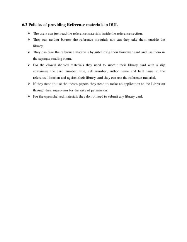 an internship report on library operations and services of dhaka univ  librarian service