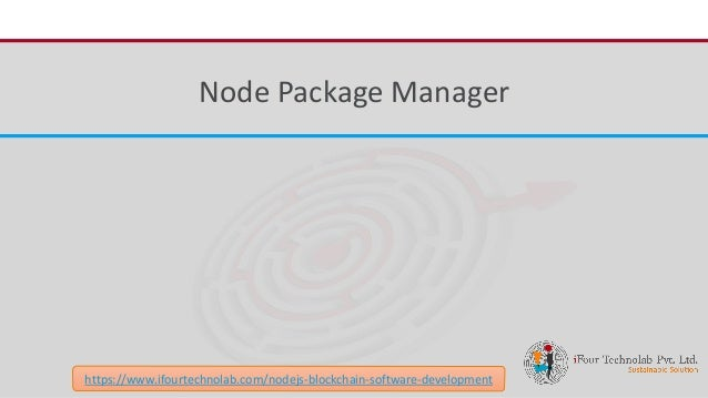 An Introduction of Node Package Manager (NPM)