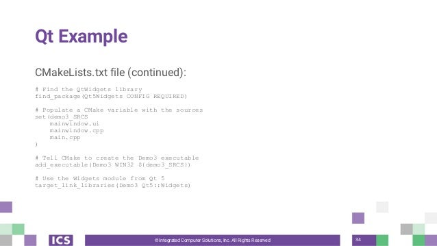 An Introduction to CMake