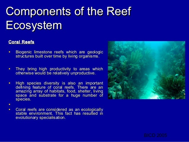 an introduction to the analysis of coral reefs Economic value of us coral reefs:  analysis of the seven studies presented in this report in  introduction 3 coral reefs are among the most valuable.