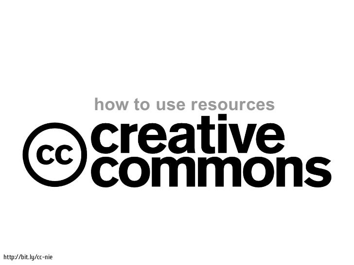 how to use resourceshttp://bit.ly/cc-nie
