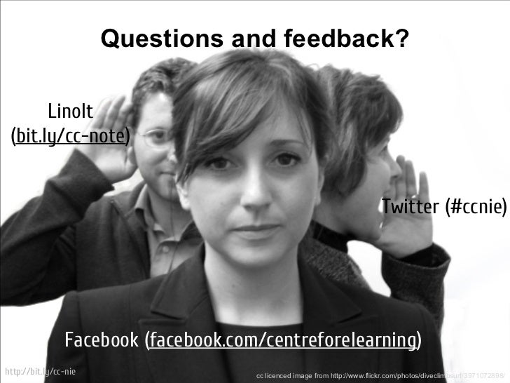 Questions and feedback?       LinoIt (bit.ly/cc-note)                                                                     ...