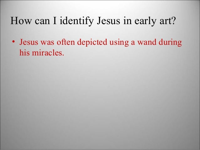 Intro to Early Christian Art Slide 3