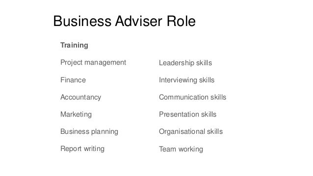 An Introduction To Enactus For Business Advisers