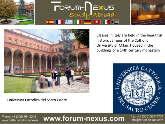 An Introduction To Forum Nexus Study Abroad Intensive Summer And Wi…