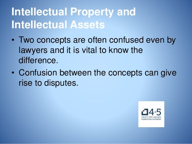 An Introduction to Intellectual Property for Commercial Lawyers Slide 3