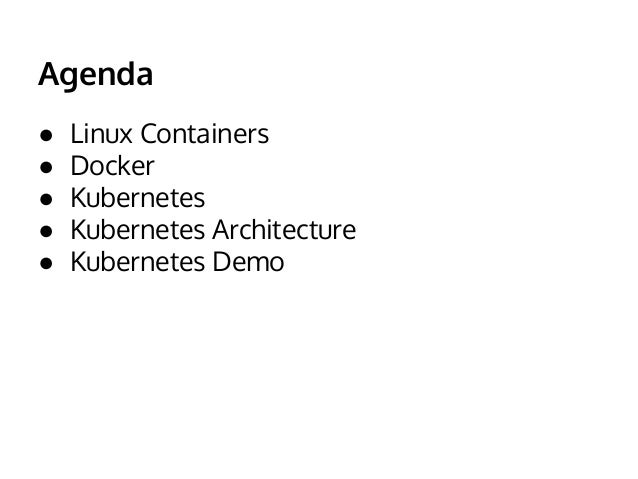 An Introduction to Kubernetes Slide 2