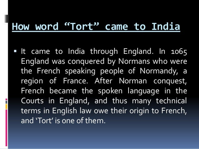 ENGLISH LAW OF TORT DOWNLOAD