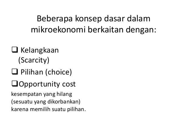 Intro to microeconomics notes