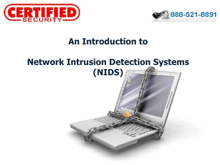 An Introduction to <br />Network Intrusion Detection Systems (NIDS)<br />