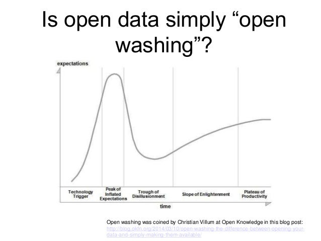 Walk the walk on open data ● Better data ● Publish data that matters - local and granular ● Release in open formats ● Know...
