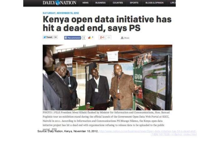 Release data that matters: eg. grades at school level Source: Twaweza, Tanzania, List of worst schools, http://www.shule.i...