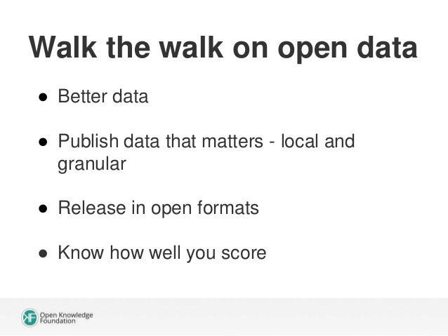 Tip: the story is almost always buried in granular data Source: Mapumental