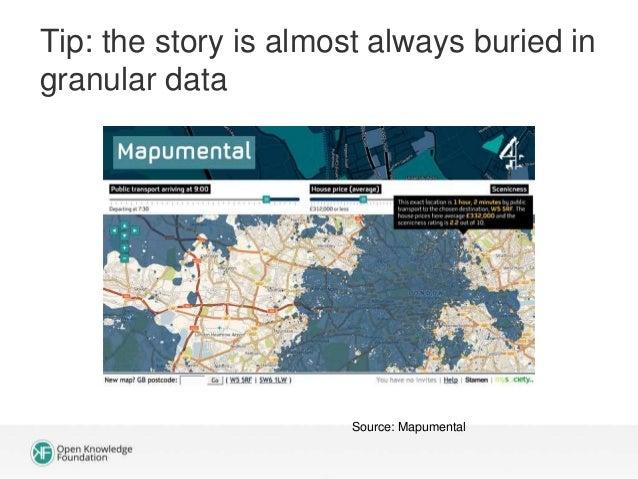 Example: geodata portal