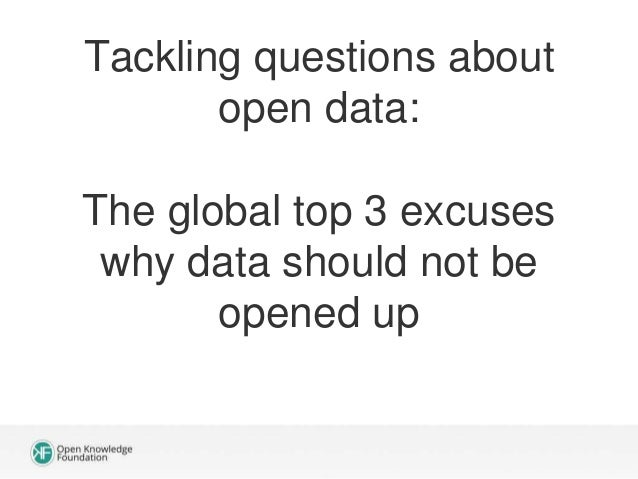 So besides all these tips: What makes an open data initiative successful?