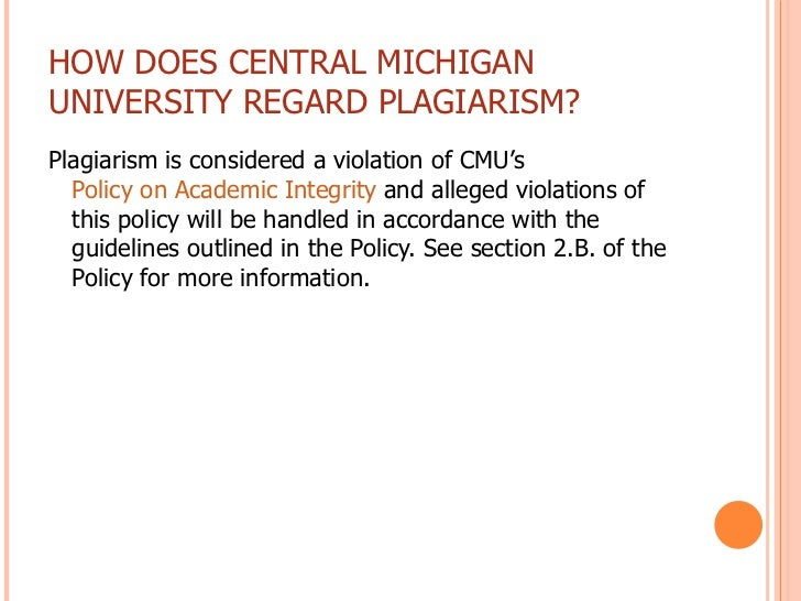 An Introduction To Plagiarism