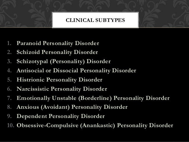 An introduction to paranoid personality disorder
