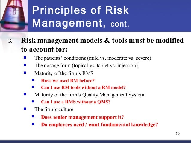 introduction to risk principles Monash university faculty of business and economics department of accounting and finance first semester, 2013 unit name: unit code: introduction to risk principles aff 9020.