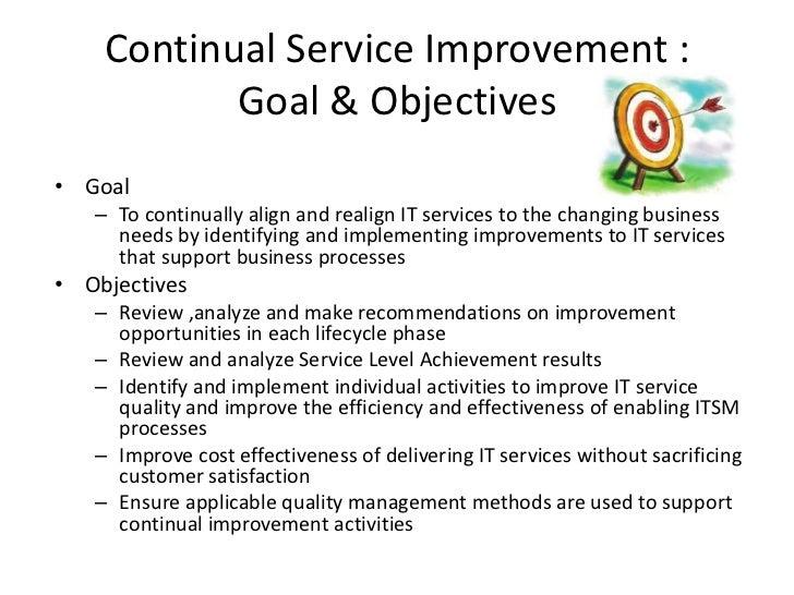 Luxury Continual Service Improvement Template Motif - Resume ...