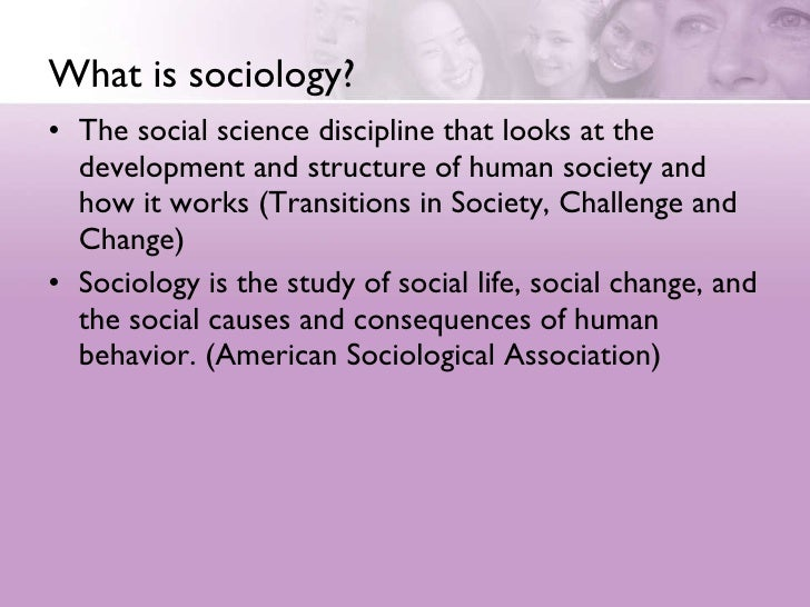 An Introduction To Sociology Slide 2