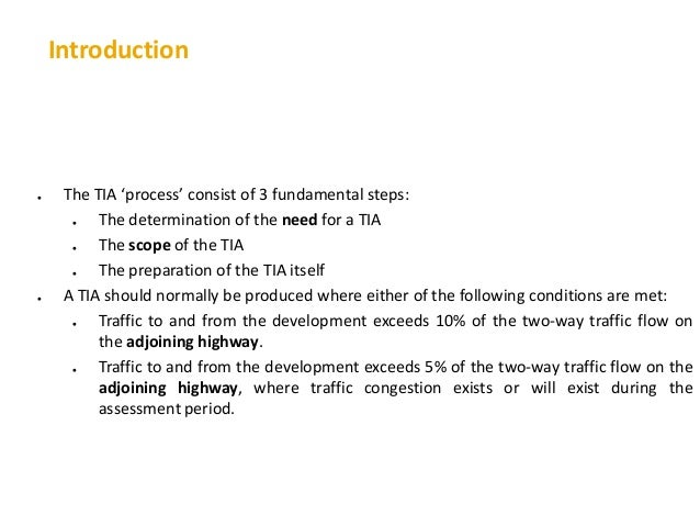 Introduction to Metropolitan Transportation Planning