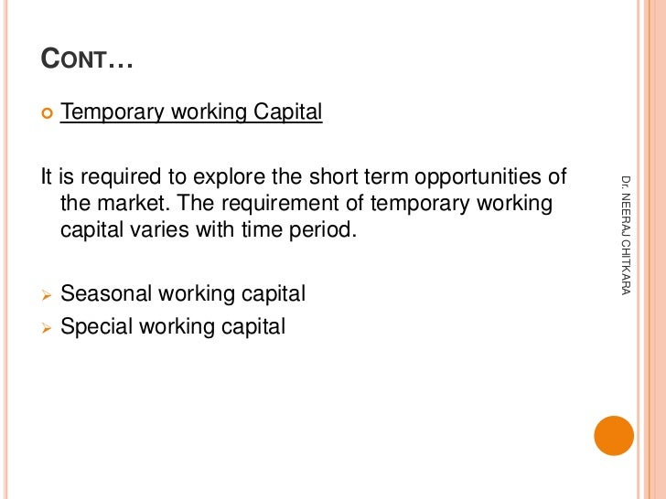 introduction of working capital As i mentioned in the introduction, working capital is calculated by subtracting current liabilities from current assets.