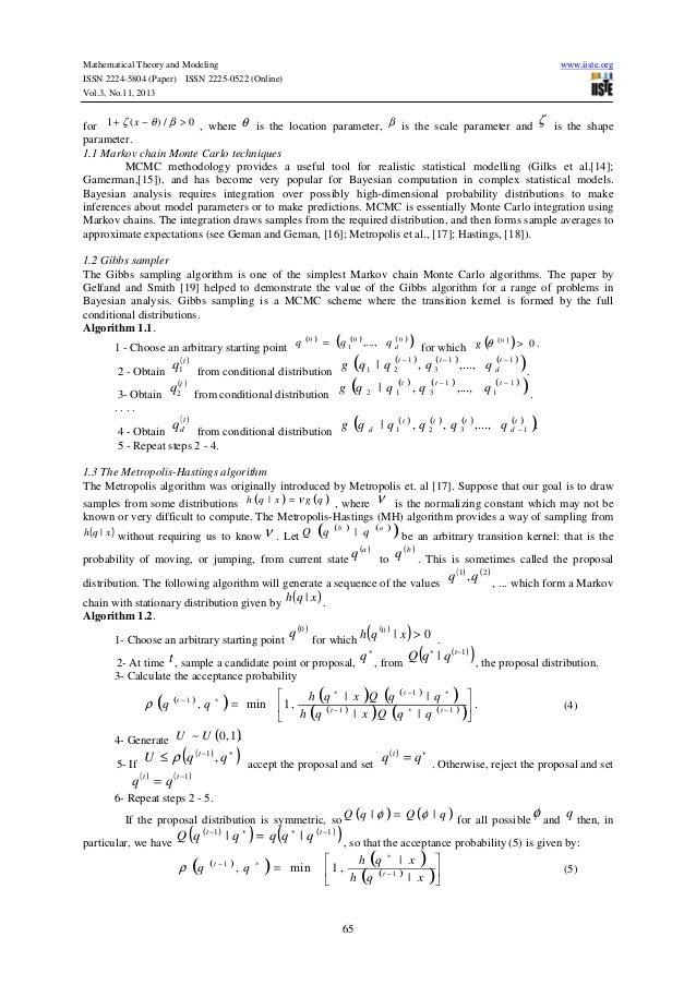 markov chain monte carlo in practice gilks pdf
