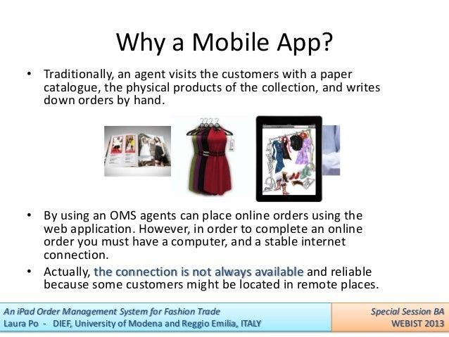 Trade order management system software