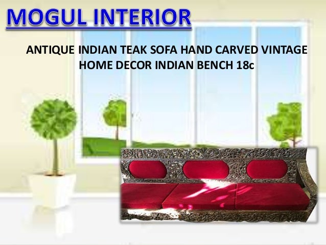 Home Decor Antique Indian Furniture