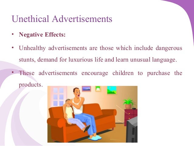 effects of unethical advertising on consumers