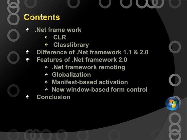 An isas presentation on .net framework 2.0 by vikash chandra das