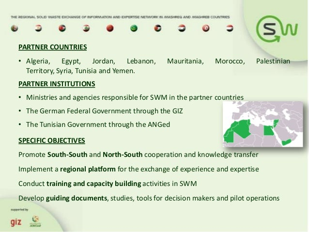 Towards greening the solid waste sector in the middle east and north 14 sciox Image collections