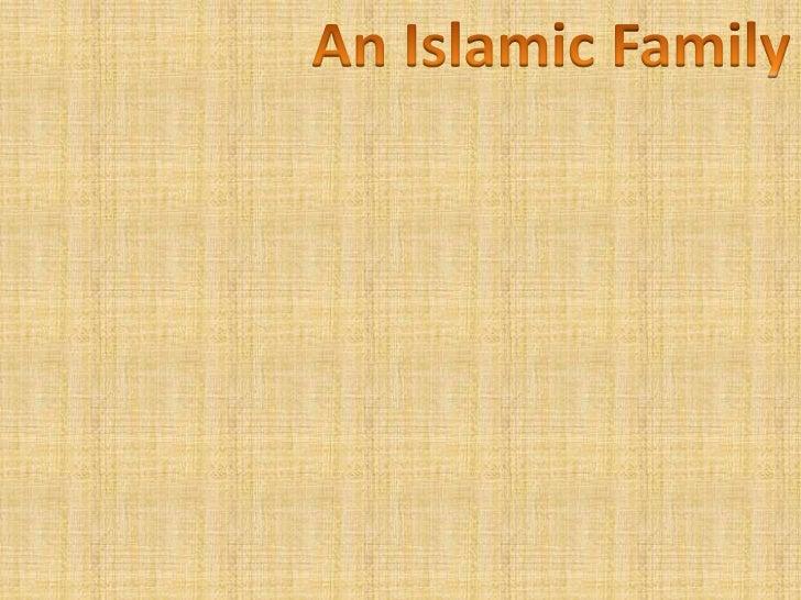 An Islamic Family
