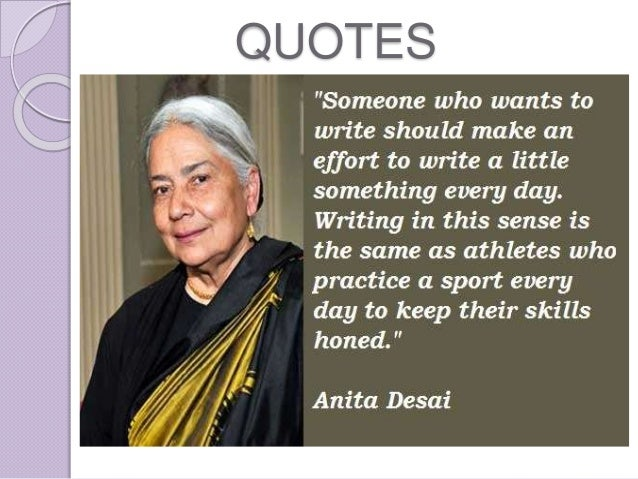 summary on voices in the city by anita desai Anita desai booklist anita desai message board detailed plot synopsis reviews of in custody this is a novel about a small-town man, deven, who gets the opportunity to go interview his hero, the great poet nur, the greatest living urdu poet.