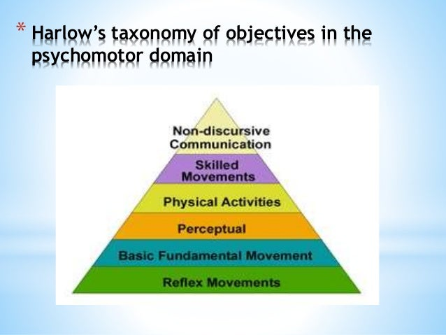 dave psychomotor domain The dave version of the psychomotor domain is featured most prominently here because in my view it is the most relevant and helpful for work- and life-related development, although the.