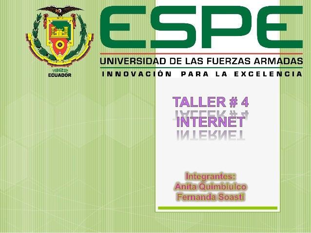  La palabra Internet proviene del inglés International Network of Computers, que significa red internacional de computado...
