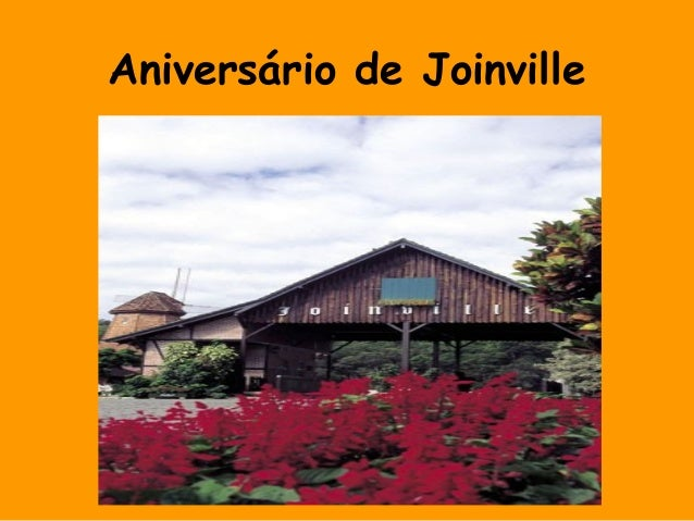 Aniversário de Joinville