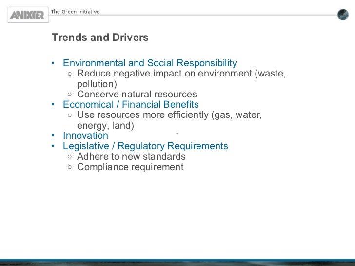 Anixter Green Initiative Slide 3