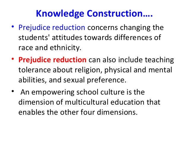 dimensions of multicultural education